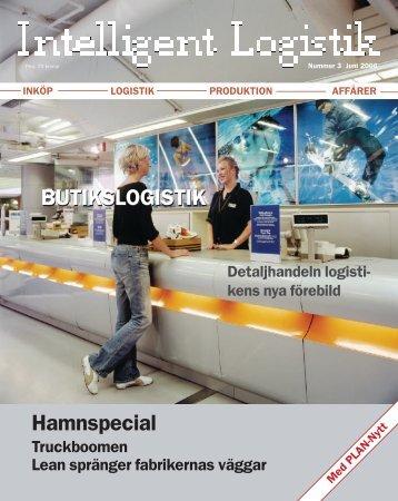 Nummer 3 2006 - Intelligent Logistik