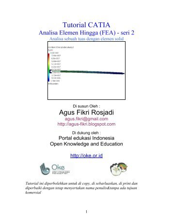 Tutorial CATIA - Open Knowledge and Education (OKE)