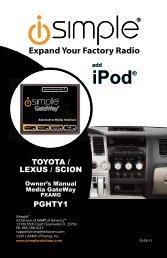 iPod® iPod® - PAC Audio