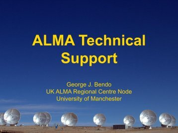 ALMA technical support