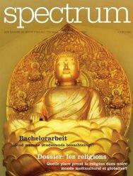 Dossier: les religions Bachelorarbeit - Université de Fribourg