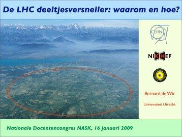 Presentation Nationale Docentencongres NASK, 16 January 2009