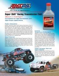 Super Shift® Racing Transmission Fluid - Synpsg