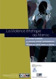 La Violence étatique au Maroc - World Organisation Against Torture