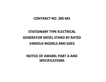 stationary medium expansion foam generator description