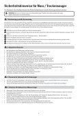 Instruções de segurança para aspirador seco e mol- hado - Page 4