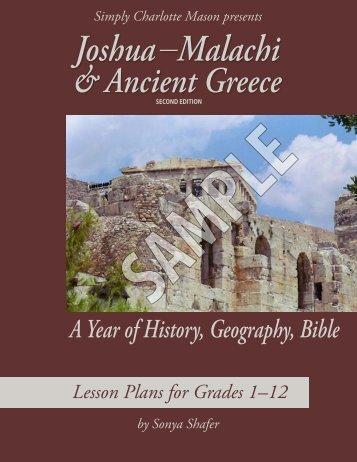 Joshua through Malachi & Ancient Greece sample - Simply ...