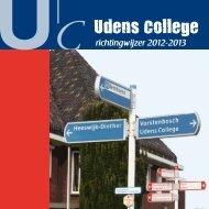 Richtingwijzer 2012-2013 - Udens College