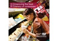 GDA Labels: Improving the food literacy of consumers
