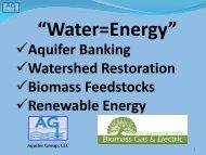 Water Equals Energy - Texas Renewable Energy Industries ...