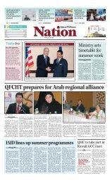 QFCHT prepares for Arab regional alliance - Qatar Tribune