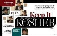 Keep it Kosher - May 2013 - Jewish Community Council of Montreal