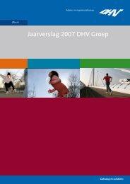 Jaarverslag 2007 DHV Groep