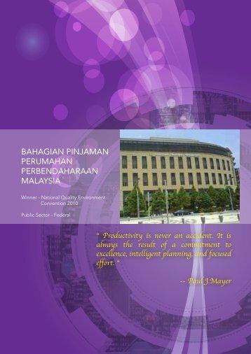 bahagian pinjaman perumahan perbendaharaan malaysia - MPC