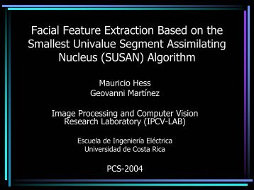 PCS-2004 Talk - IPCV-LAB - Universidad de Costa Rica