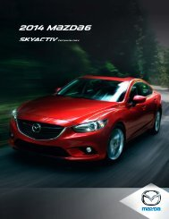 2014 M{zd{6 - Mazda Canada