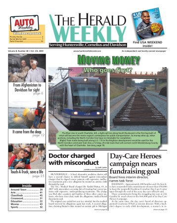 Moving money - Carolina Weekly Newspapers