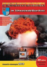 FEUERWEHREN - Landratsamt Schwarzwald-Baar-Kreis