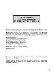 procès verbal du 01/10/2012 - Ville de Tournefeuille