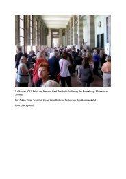 5. Oktober 2011, Palais des Nations, Genf. Nach der ... - Uwe Appold