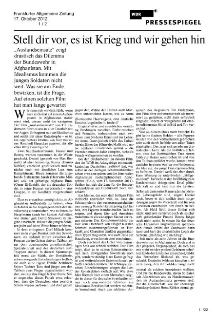 Presseclipping (7,17 MB) - relevant f!
