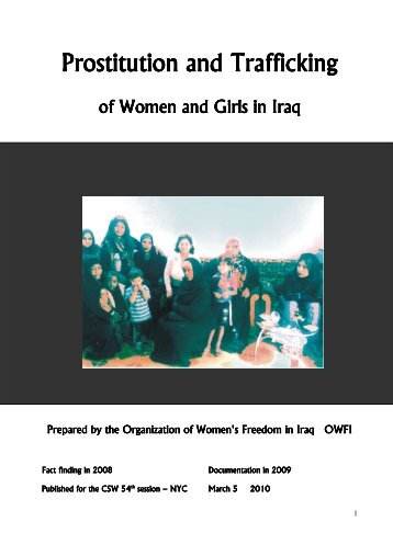 Prostitution and Trafficking Prostitution and Trafficking - PeaceWomen