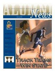 Track Teams Win State Track Teams Win State - St. Pius X Catholic ...