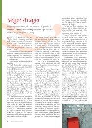 Segensträger - Ethos