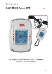 EASY TRAXX Pocket GPS V1.00 - Kasper & Richter