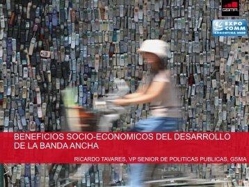 beneficios socio-economicos del desarrollo de la banda ... - CICOMRA