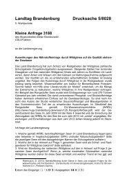 Landtag Brandenburg Drucksache 5/8028 - Brandenburg.de