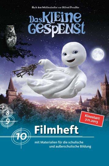 Filmheft-Das-kleine-Gespenst - Vision Kino