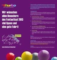 Thurbo Fahrplan zum Fantastical 2013