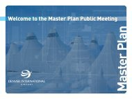 the Master Plan Public Meeting - DIA Business Center Home Page ...