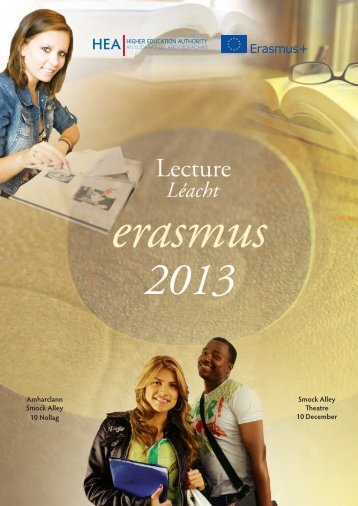 Lecture Programme - National Agency for the Lifelong Learning ...