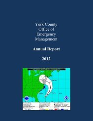 York County Office of Emergency Management