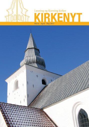 Marts- maj 2013 - Løsning og Korning Sogne