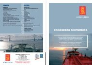KONGSBERG SHIPMEDICS - Kongsberg Maritime