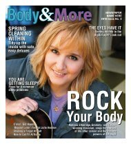BODY & MORE I ssue N o . 3 2 0 10 - Content That Works