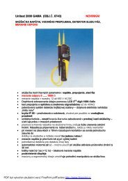 Unitest 2000 GAMA (OBJ. . 6743) NOVINKAi - KALA elektro