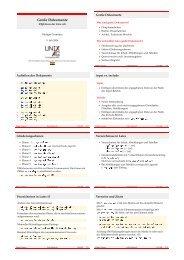 Große Dokumente - Unix-AG-Wiki