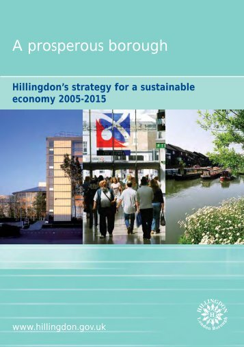 Economic development strategy - London Borough of Hillingdon
