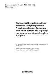 Toxicological Evaluation and Limit Values for 2 ... - Miljøstyrelsen