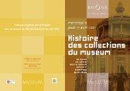 Programme - musée des Confluences