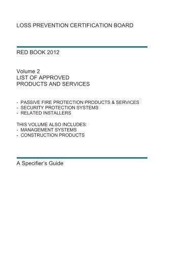 LOSS PREVENTION CERTIFICATION BOARD RED ... - RedBookLive