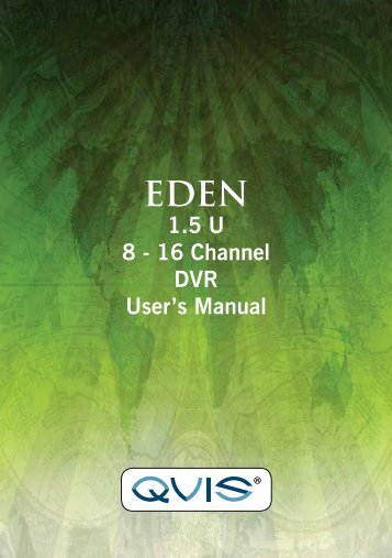 Eden Manual - Qvis Security
