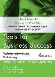 QUALITY MO ES Verfahrensanweisung Validierung - Vorest AG