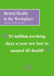 Mental Health in the Workplace - Mental Health Foundation