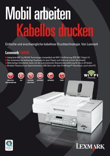 Lexmark X6570 - Wolfsteiner-EDV online