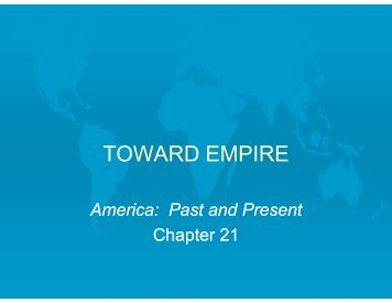 TOWARD EMPIRE